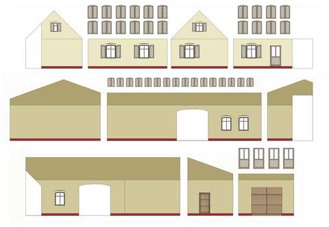 Vorlage der Wohn- und Wirkungsstätte des Dachdeckers