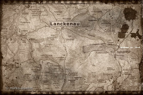 Stadtarchiv: Landkarte von 1860