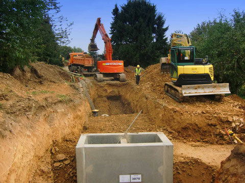 Baugrundstücke Rohausbau