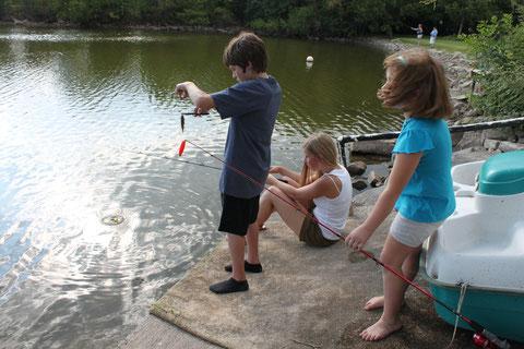 Fishing, sehr viel Spaß! :D