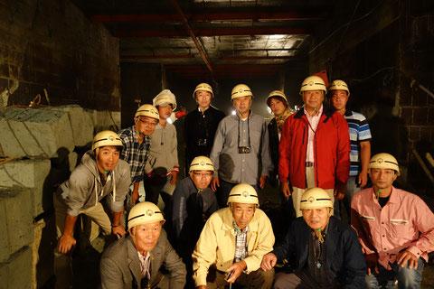 平成24年大谷石採掘場見学