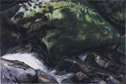 francois beaudry pastel et aquarelle peinture tableau paysage murène série via appalachia 6