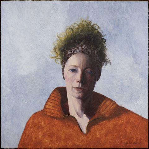 francois beaudry egg tempera painting portrait colette