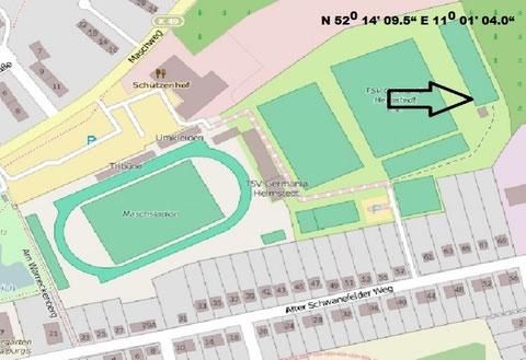 Bogensportplatz des TSVG Helmstedt