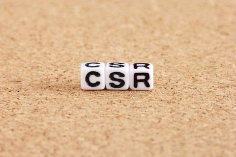 CSRをイメージした写真。CSRへの取り組み