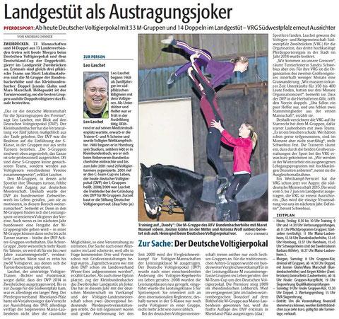 Rheinpfalz-Bericht vom 24.Okt. 2014