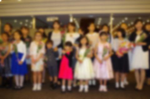 ももたピアノ教室(堺市北区新金岡町)でのピアノ発表会の様子