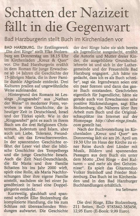 Goslarsche Zeitung 20.03.12, Seite 19