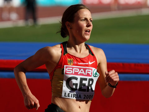 Sabrina Mockenhaupt - dreifache Olympia-Teilnehmerin (zweimal für die LG Sieg)