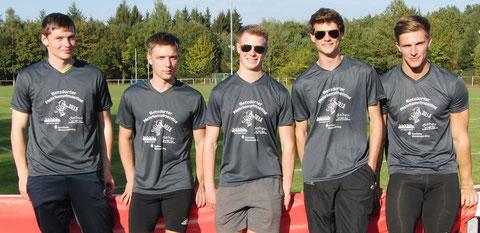 Fünfkämpfer der LG Sieg