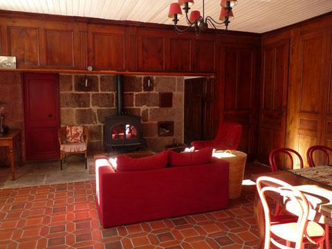 maison d'hôtes cheminée