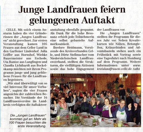 Quelle: Cellesche Zeitung v. 21.03.2017