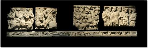 Blog Scola Metensis-Sarcophage de Louis le Pieux-Musée de la Cour d'Or