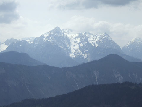 Blick in die Alpen.