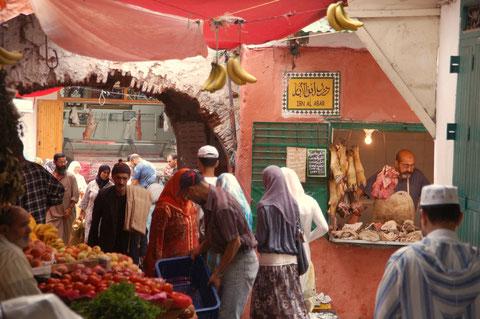 In Tetouan / Marokko, Juli 2011