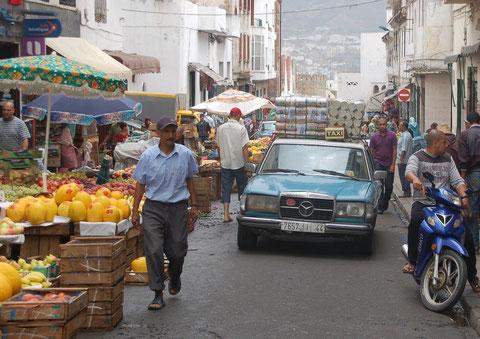 Alltag in Al Hoceima, Marokko, Juli 2011
