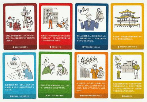 THE SDGsアクションカードゲームクロスのトレードオフカード