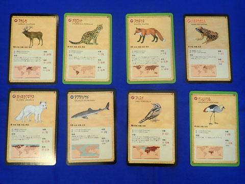 ファウナのカード