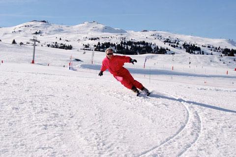 Ski laufen lassen