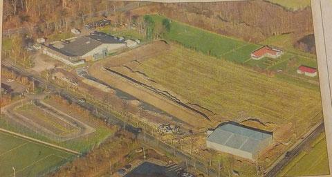 Tag 8 - mal eine andere Ansicht von unserem Bogensportzentrum...