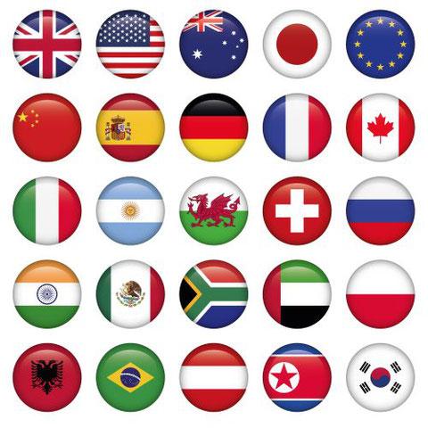 Übersetzungen für viele Sprachen