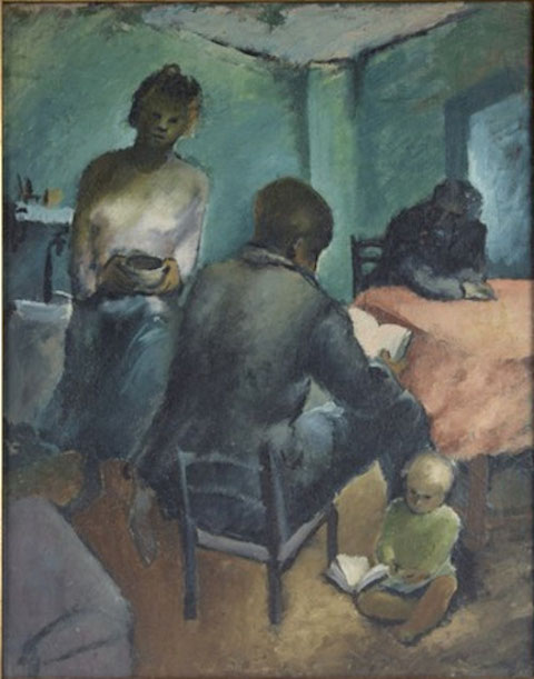 Marco Behar / Familienrat / 1939