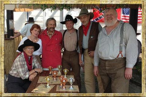vlnr. Elke, Susanne,Klaus,Werner,Hans,Michael