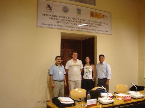 Participacion en el Primer encuentro Latinoamericano sobre la Figura de Operador Economico en la Union Europea