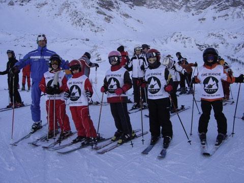 ...i più piccoli della scuola-sci 2013