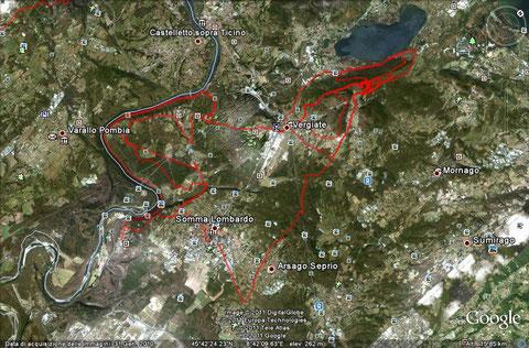 percorso... 46 km in MTB