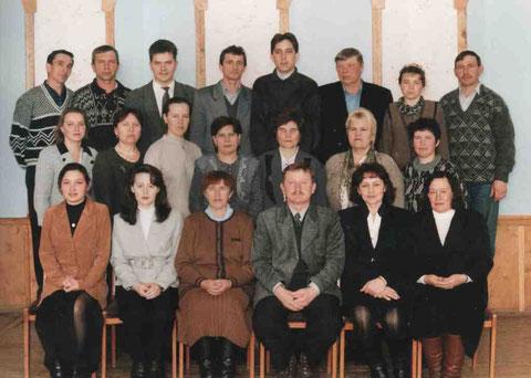 Коллектив учителей 2001г.