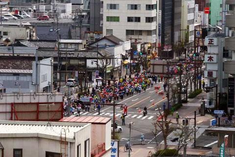 長野マラソン第16回大会 1万人近いランナーたちが参加したそうです