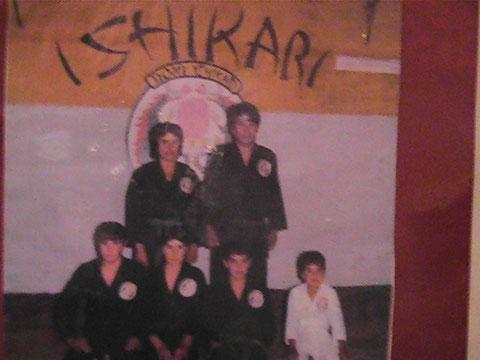 LA FAMILIA LUNA ORGULLOSA SIEMPRE  DE REPRESENTAR  EL ESCUDO  DOJO ISHIKARI