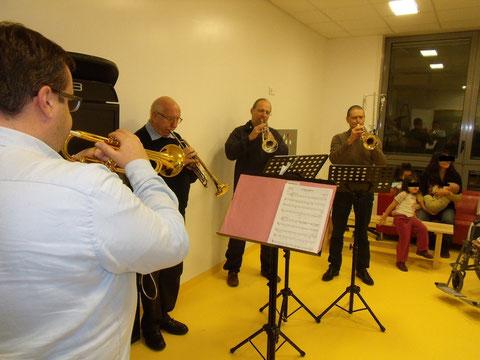 Les trompettes au CHIC