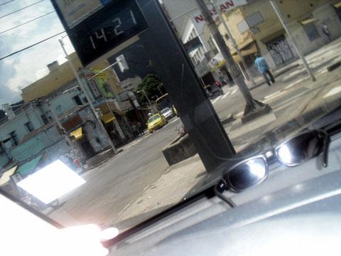 Rio 33 Grad im Schatten