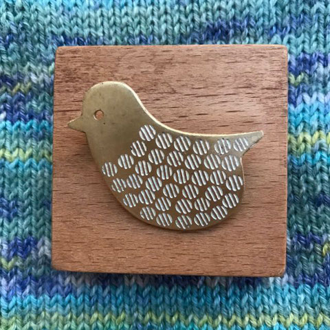 ことり Little Bird Brooch/design©︎おばけリンゴ/Obake-Ringo