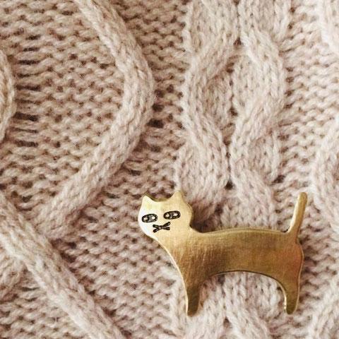 『うちのねこ/MYCAT』ブローチ