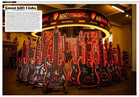 Artikel im Magazin Visions zur Aktion RETTET DIE BERLINER CLUBS
