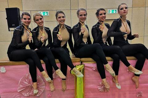 Rhythmic Show Girls (TuRa Rüdinghausen): Glückliche Sieger