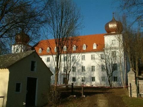 Schloss Pirkensee mit Schlossgarten