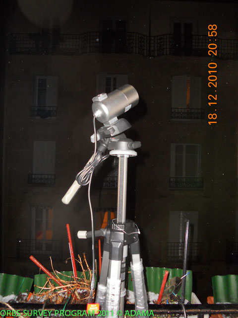 Camera IR sur tripode contemporain DR