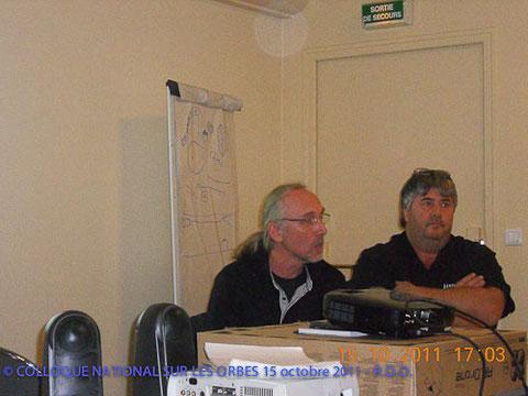 Joël Ury et Jean-Luc Royans responsables de l'IFRES - DR