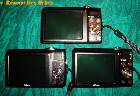L'écran LCD du S 3000 et commandes