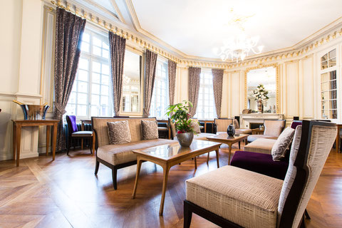 Hôtel Marotte, 5 stars, boutique hotel, luxury hotel, hotel cosy & chic, hotel in the city centre of Amiens, tee salon