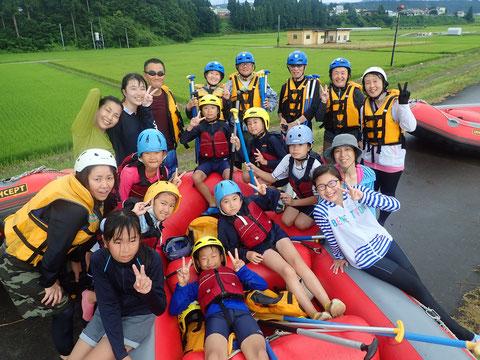 2021年08月06日PM信濃川ラフティングツアー写真プレビュー【日本アウトドアサービス】