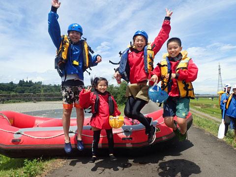 2021年08月09日AM信濃川ラフティングツアー写真プレビュー【日本アウトドアサービス】