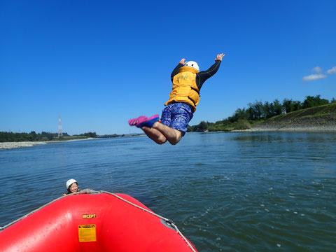 2021年09月27日AM信濃川ラフティングツアー写真プレビュー【日本アウトドアサービス】