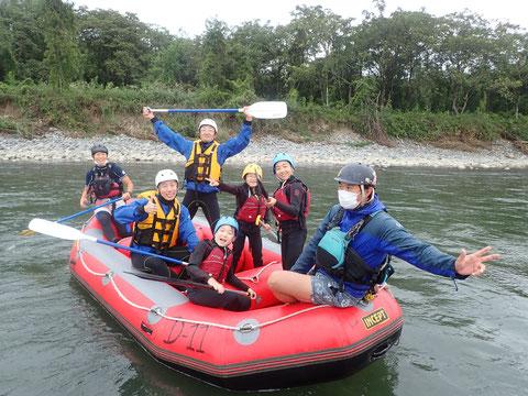 2021年09月26日AM信濃川ラフティングツアー写真プレビュー【日本アウトドアサービス】