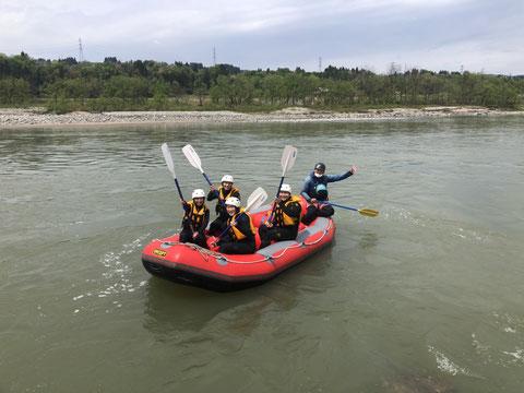 2021年05月01日AM信濃川ラフティングツアー写真プレビュー