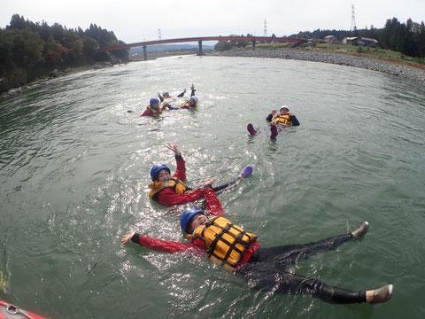 2020年10月28日AM信濃川ラフティングツアー写真